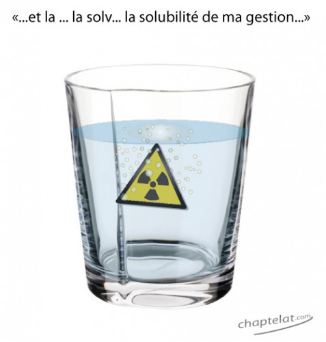 l'eau no radioactive